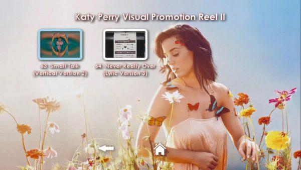 KATY PERRY DVD Reel 2 Menu Page 7