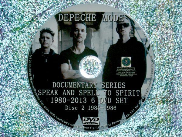 Depeche Mode Documentary Series Disc 2