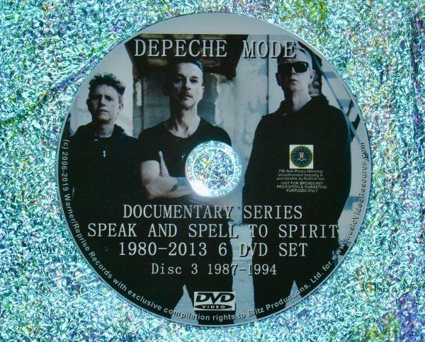 Depeche Mode Documentary Series Disc 3