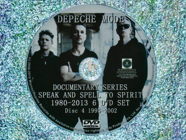 Depeche Mode Documentary Series Disc 4