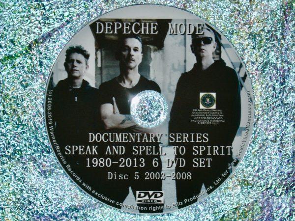 Depeche Mode Documentary Series Disc 5