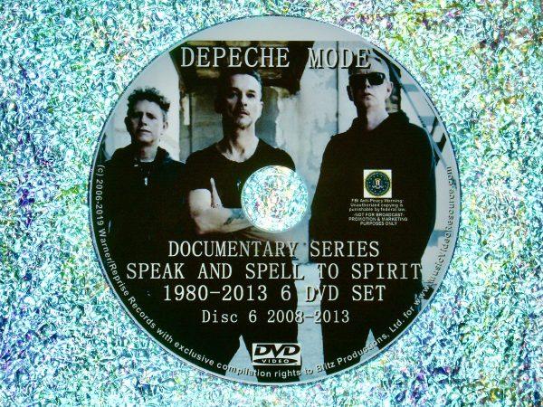 Depeche Mode Documentary Series Disc 6
