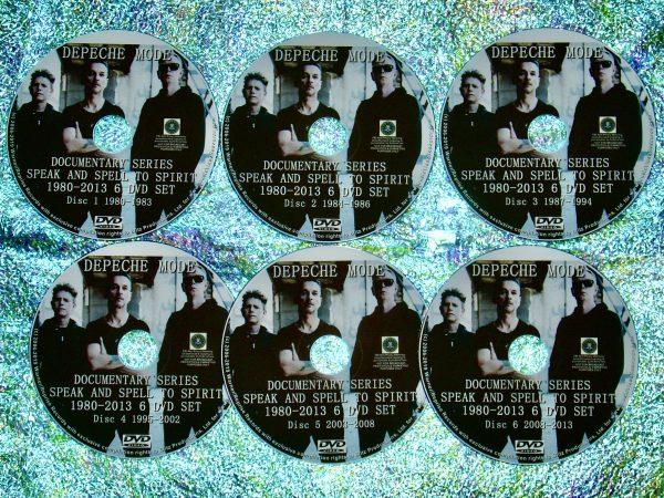 Depeche Mode Documentary Series Speak and Spell to Delta Machine 1980-2013 6 DVD Set