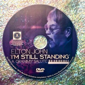 Elton John: I'm Still Standing A Grammy Salute 2018 DVD (Lady Gaga, Miranda Lambert, Ed Sheeran and Sam Smith)