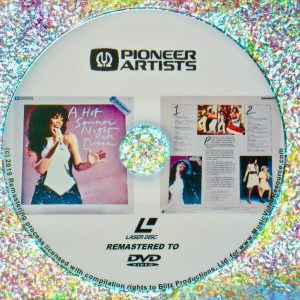 Donna Summer A Hot Summer Night (1983) DVD (Remastered from LaserDisc to DVD)