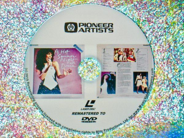 Donna Summer A Hot Summer Night (1983) DVD (Remastered from LaserDisc to DVD)