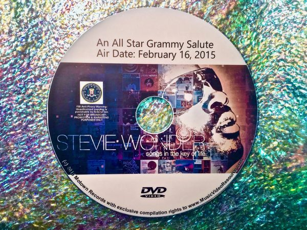 Stevie Wonder Songs In The Key of Life An All Star Grammy Salute 2015 DVD (Beyonce, Ariana Grande, Annie Lennox and Ed Sheeran)