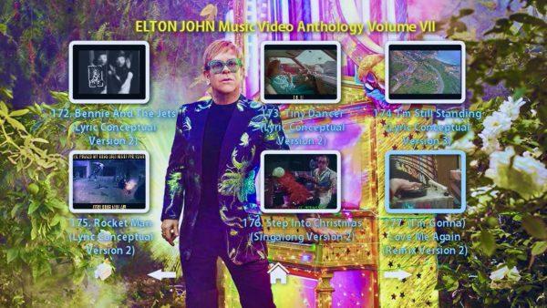 Elton John Anthology Vol VII Menu Page 2