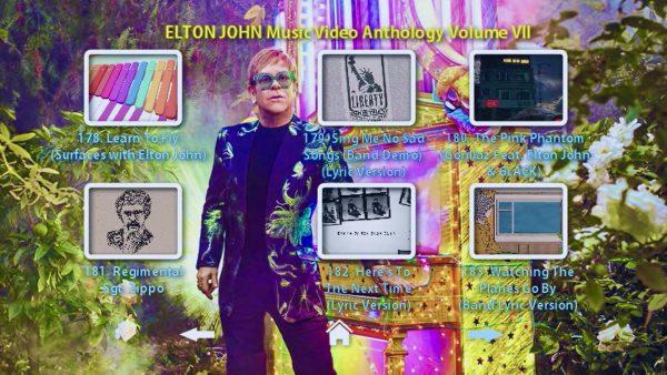 Elton John Anthology Vol VII Menu Page 3