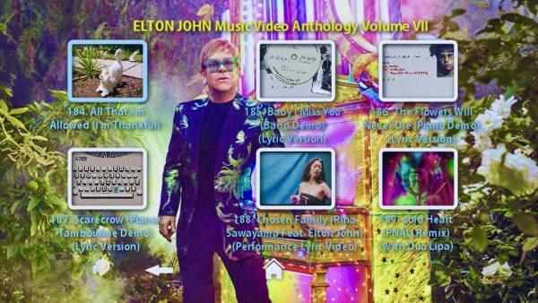 Elton John Anthology Vol VII Menu Page 4