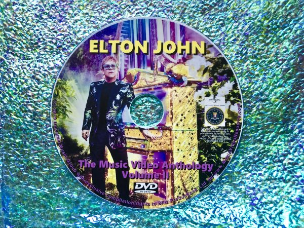 ELTON JOHN The Music Video Anthology Volume II of VI