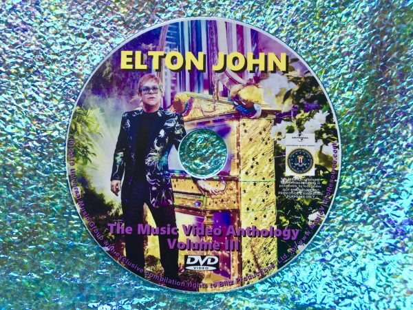 ELTON JOHN The Music Video Anthology Volume III of VI