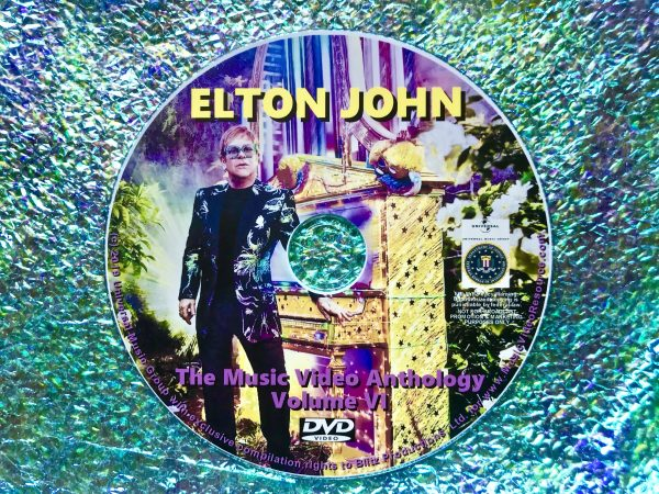 ELTON JOHN The Music Video Anthology Volume VI of VI
