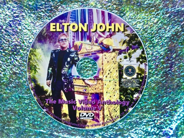 ELTON JOHN The Music Video Anthology Volume V of VI