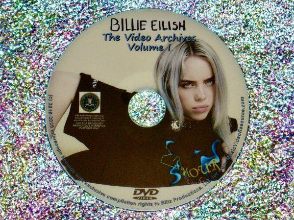 Billie Eilish Video Archives 2019-2020 DVD Volume I