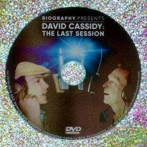 David Cassidy The Last Session DVD (2018 Documentary)
