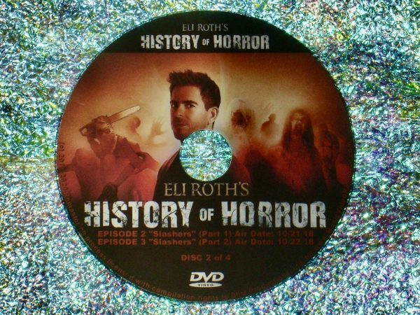 Eli Roth's History of Horror 4 DVD Set (Full Mini Series – Episodes 1 to 7 - 4 Hours 56 Minutes) Disc 2 of 4
