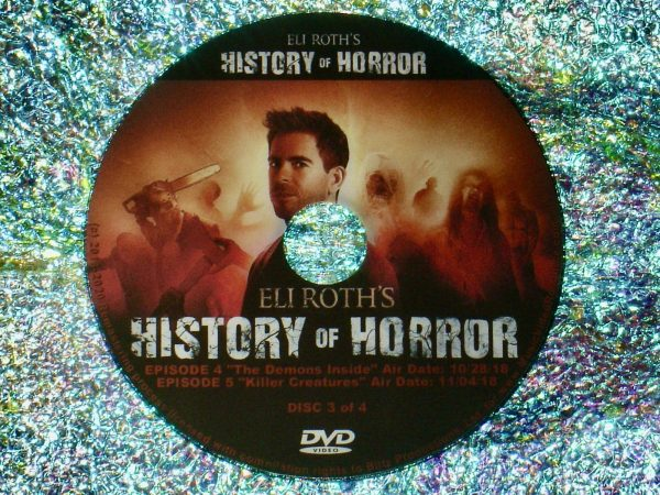 Eli Roth's History of Horror 4 DVD Set (Full Mini Series – Episodes 1 to 7 - 4 Hours 56 Minutes) Disc 3 of 4