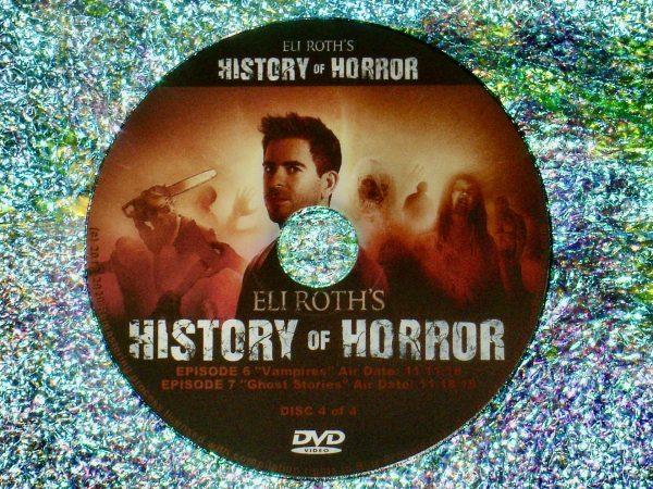 Eli Roth's History of Horror 4 DVD Set (Full Mini Series – Episodes 1 to 7 - 4 Hours 56 Minutes) Disc 4 of 4