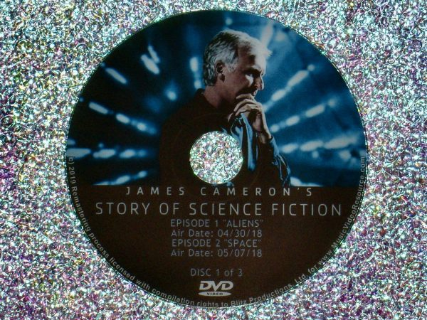 James Cameron's Story of Science Fiction Full Mini Series - Eps 1 and 2 Disc 1 of 3