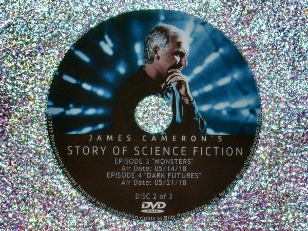 James Cameron's Story of Science Fiction Full Mini Series - Eps 3 and 4 Disc 2 of 3