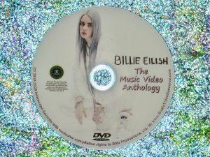 Billie Eilish Music Video Anthology DVD (22 Music Videos)