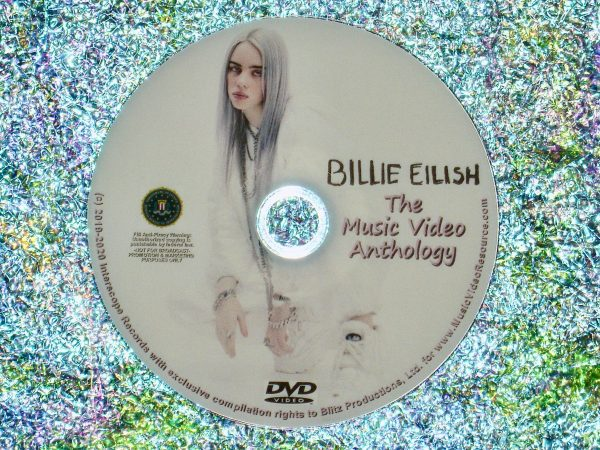 Billie Eilish Music Video Anthology DVD