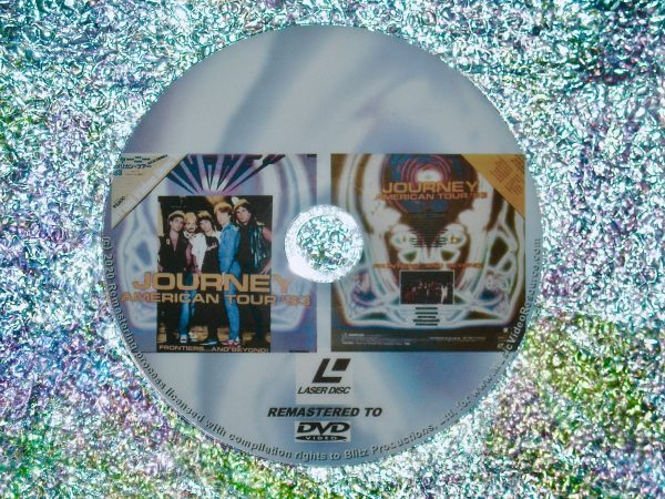 JOURNEY American Tour '83 FRONTIERS…AND BEYOND! – Live at JFK Stadium, Philadelphia, PA. USA 4th June (1983) (Remastered from LaserDisc to DVD)