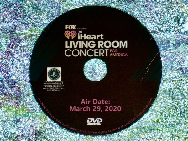 iHeart Living Room Concert for America DVD 3:29:20