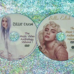 Billie Eilish Music Video Anthology 2 DVD Set 2016-2021 (28 Music Videos)