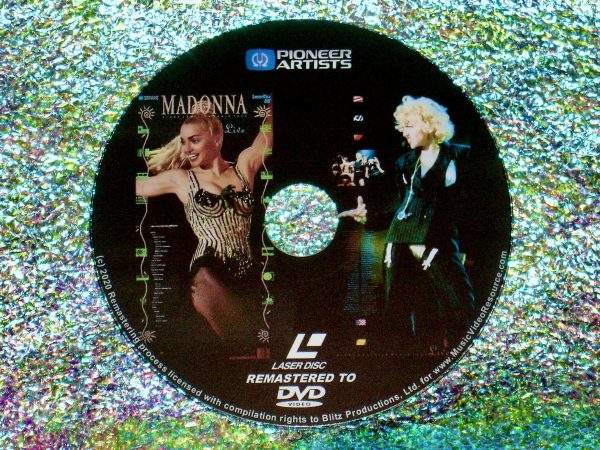 MADONNA Blond Ambition World Tour Live (1990) (Remastered from LaserDisc to DVD)