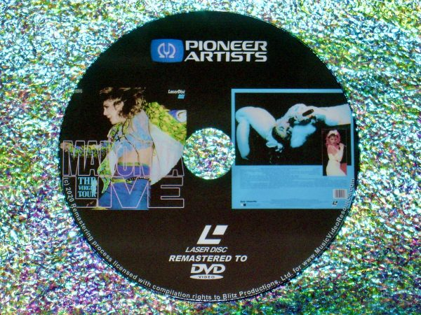 MADONNA The Virgin Tour Live (1985) (Remastered from LaserDisc to DVD)