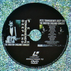 Pete Townshend's Deep End The Brixton England Concert (1986) (Remastered from LaserDisc to DVD)
