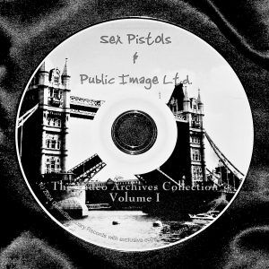 SEX PISTOLS and PIL VIDEO ARCHIVES & Music Videos 1978-1996 VOLUME I 2