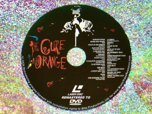 THE CURE IN ORANGE (1987) (Remastered from LaserDisc to DVD)