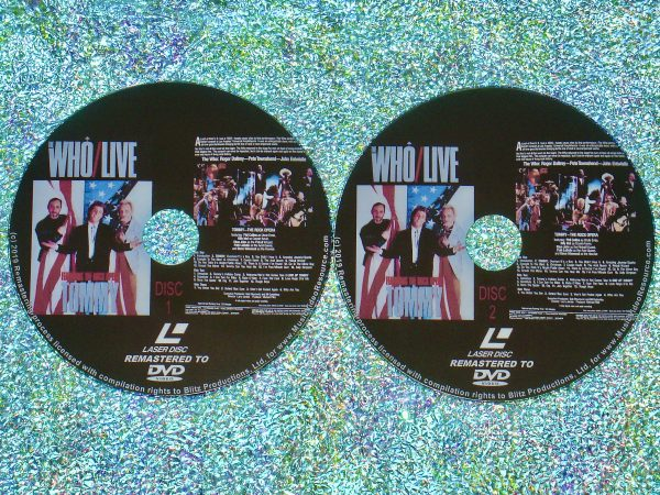 The Who Live Featuring The Rock Opera Tommy (1986) (Remastered from LaserDisc to DVD)