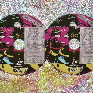 "the cure play out ""DELUXE EDITION"" 2 DVD Set (1992) (Remastered from LaserDisc to DVD)"
