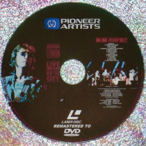 JOHN LENNON LIVE IN NEW YORK CITY (1972) (Remastered from LaserDisc to DVD)