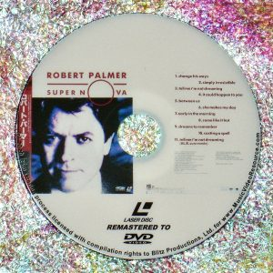 ROBERT PALMER SUPER NOVA (1989) (Remastered from LaserDisc to DVD)