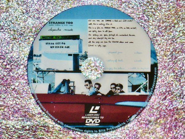 depeche mode STRANGE TOO (Another Violation By Anton Corbijn) (1990) (Remastered from LaserDisc to DVD)