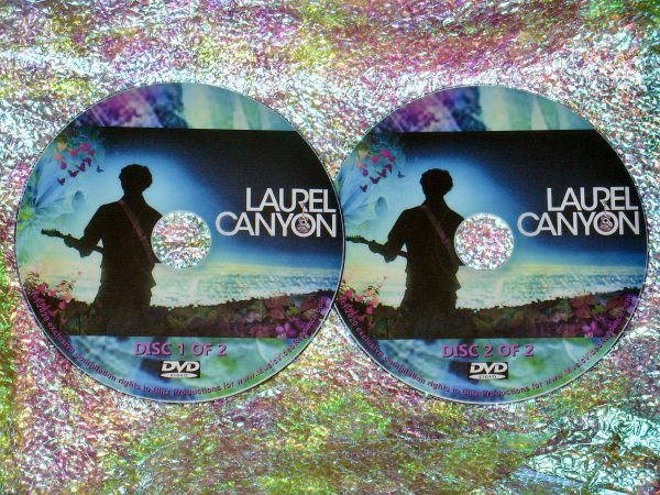 LAUREL CANYON A Place in Time (Two Parts) 2 DVD Set