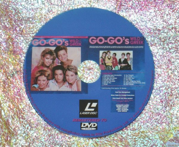 Go-Go's Wild At The Greek (1985) (Remastered from LaserDisc to DVD)