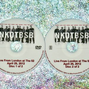 NKOTBSB LIVE FROM LONDON at The O2 April 29, 2012 2 DVD Set