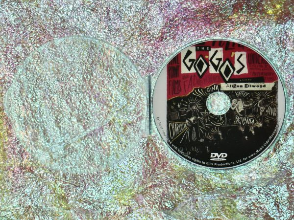 The GO-GO's 2020 Documentary DVD (1 Hour 37 Minutes) with Case
