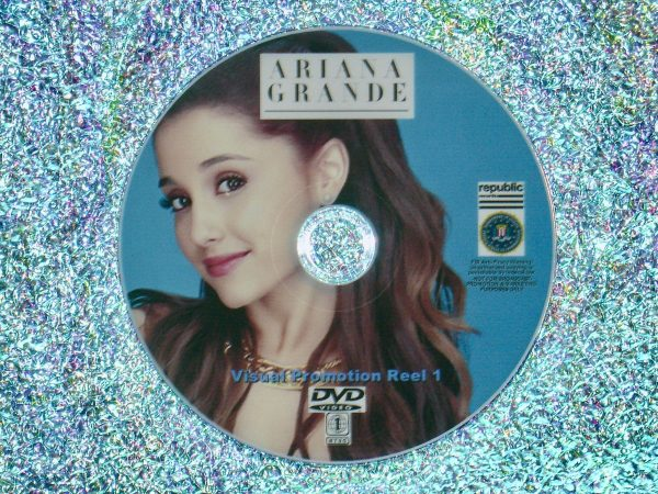ARIANA GRANDE Visual Promotion Music Video Reel 1 of 4 DVD Set