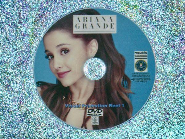ARIANA GRANDE Visual Promotion Music Video Reel 1 of 4 DVD Set