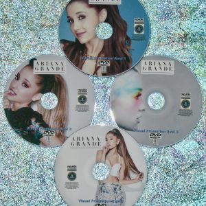 ARIANA GRANDE Visual Promotion Music Video Reel 2011-2020 4 DVD Set