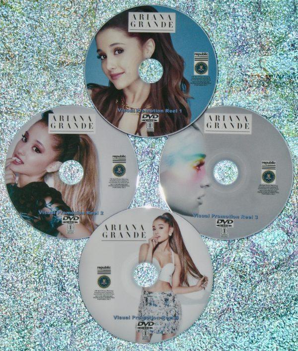 ARIANA GRANDE Visual Promotion Music Video Reel 2011-2020 4 DVD Set