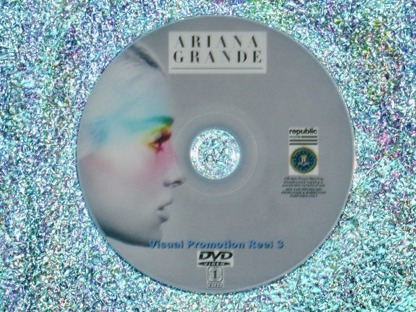ARIANA GRANDE Visual Promotion Music Video Reel 3 of 4 DVD Set