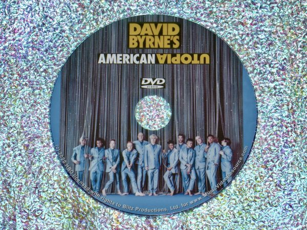 David Byrne's American Utopia DVD (2020 Concert Film Talking Heads)